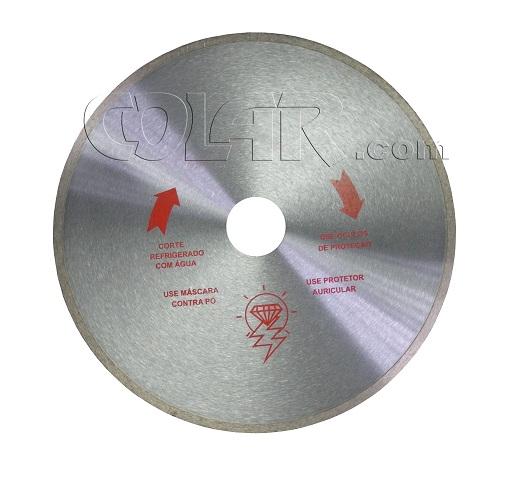 Serra Diamantada Para Marmoglass / Porcelanato 350mm - SP  - COLAR