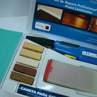 Kit de Reparo Profissional para Pisos Laminados - CeramiCure  - COLAR