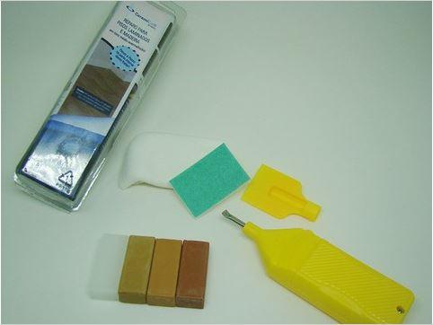 Kit Reparo Para Pisos Laminados Tons Médios e Avermelhado - CeramiCure  - COLAR