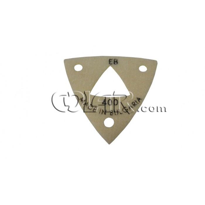 Lixa Triangular Resinado  - COLAR