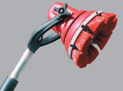 Escova Motorizada a Bateria 12 VOLTS - Cabo 0,375m  - COLAR