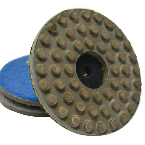 Suporte de Lixa com Velcro e Borracha 100mm - Colar  - COLAR