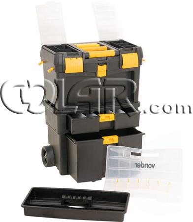 Caixa Plastica Com Roda CRV 0100 - Vonder  - COLAR