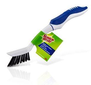 Escova Limpa Limo Fina Cerdas Pretas - 3M  - COLAR