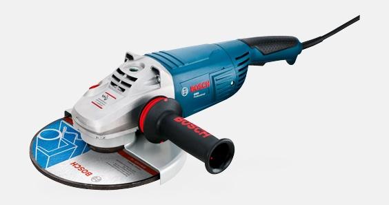 "Esmerilhadeira Angular 9"" GWS 22-230 220V 18A2 - Bosch  - COLAR"
