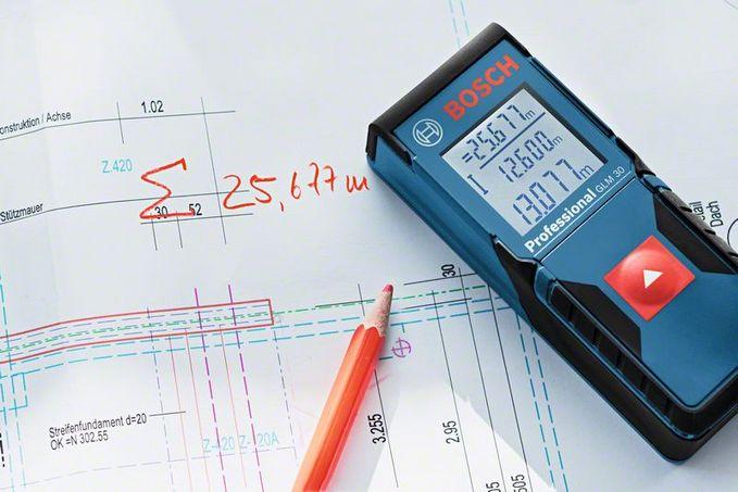 Medidor De Distância a Laser Trena GLM 30 - BOSCH  - COLAR