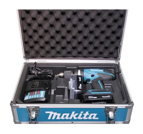 Parafusadeira / Furadeira Impacto a Bateria HP457DWEX4 220V - Makita  - COLAR