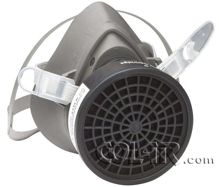Kit Completo Com Máscara Semifacial e Filtro 3200 - 3m  - COLAR