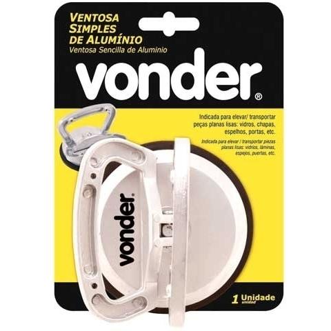 Ventosa Alumínio Simples - Vonder  - COLAR