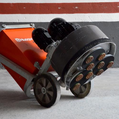 Disco de Polimento Rígido Para Concreto Spiral Concret 75mm - Colar  - COLAR