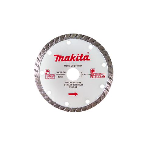 Disco Serra Mármore 125 mm Concreto/Granito B16748 - Makita  - COLAR