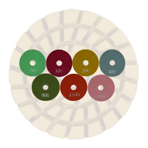 Disco Para Polimento 3´´MTR  - COLAR