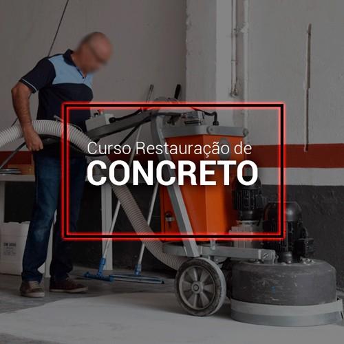 Curso de Restauração e Lapidação de Concreto  - COLAR