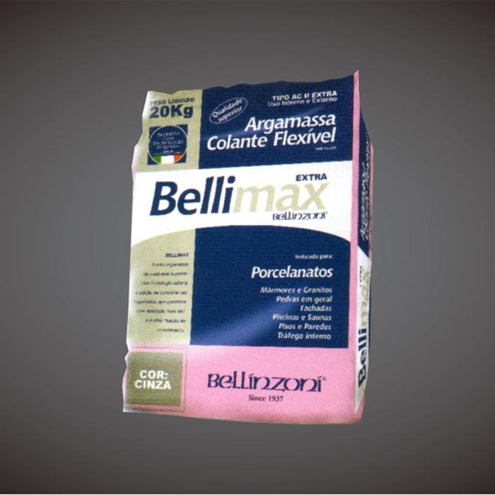 Argamassa Bellimax ACIII Extra Porcelanato 20kg - Bellinzoni  - COLAR