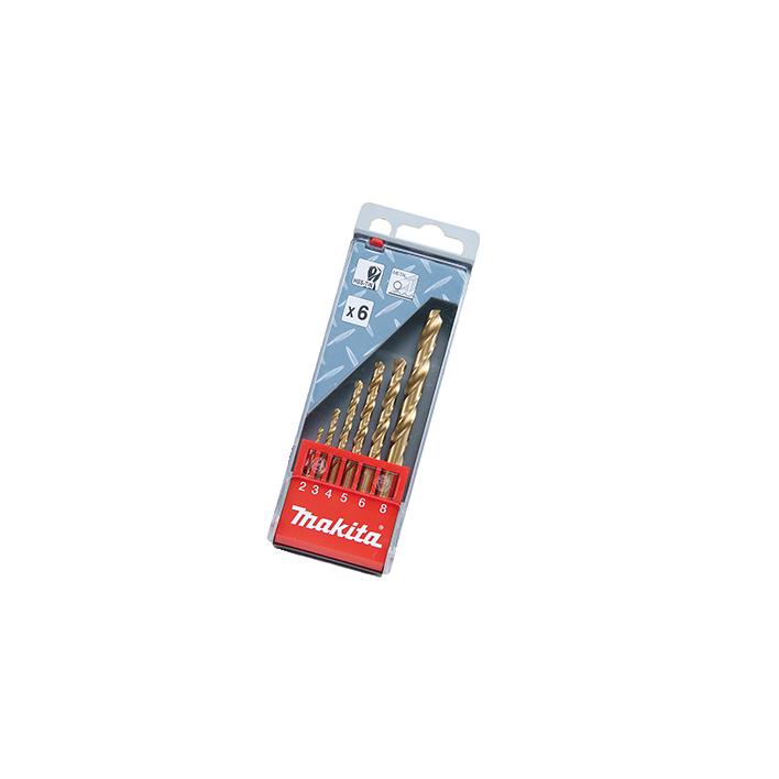 Kit de Brocas 6pçs Furo Metal D43555 - Makita  - COLAR