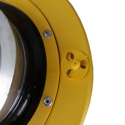 Coletor de Pó Para Lixadeira 180mm Sem Suporte e Flange Modelo Bosch  - COLAR