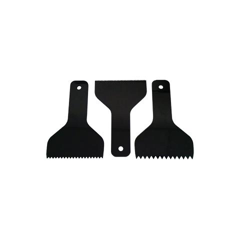 Espátula Plástica Dentada 10cm  - COLAR