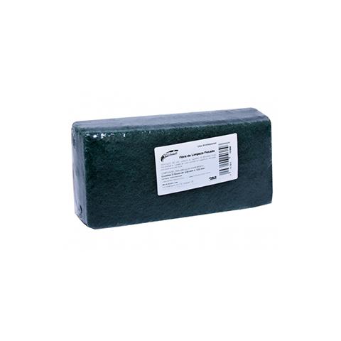 Fibra Tinindo Limpeza Pesada Verde Pacote com 5 - 3M  - COLAR