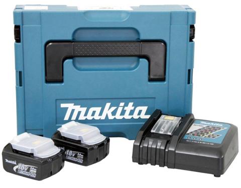 Kit Recarga 2 Baterias + Carregador 127V 196774-0 - Makita  - COLAR