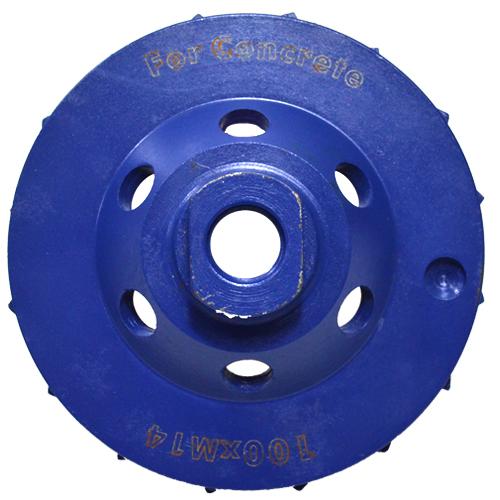 Disco de Desbaste Diamantado para Concreto 100mm - Colar  - COLAR