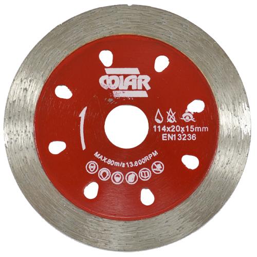 Disco de Corte  Contínuo Premium 114mm - Colar  - COLAR