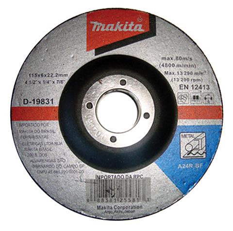 Esmerilhadeira Angular 9557HNGBR - Makita  - COLAR