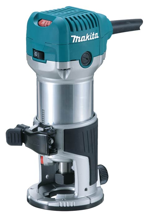Tupia 6 & 8 mm RT0700C - Makita  - COLAR