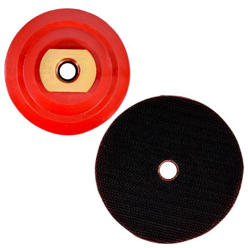Suporte de Lixa 3 Polegadas com Velcro e Rosca M14 - 80mm  - COLAR