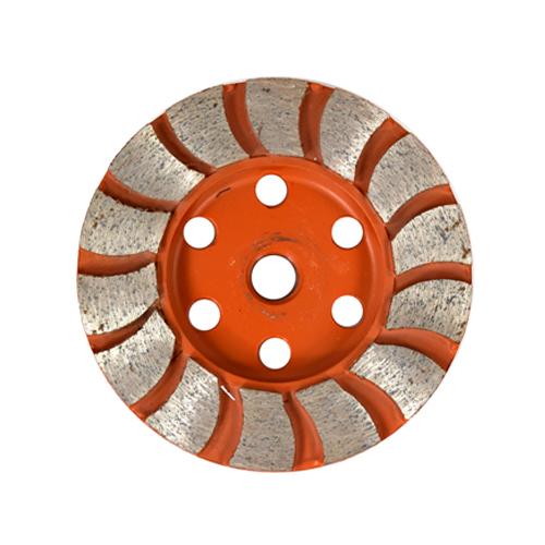 Rebolo diamantado DDD de 100mm a 150 mm Grão 36 a 120  - COLAR