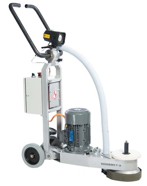 LAVINA PRO 7in GRINDING AND POLISHING CORNER MACHINE 1 PHASE  - COLAR