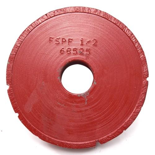 Rebolo Fresa 5 Para Meia Cana 90mm Altura 2,00cm com guia HOR SP  - COLAR