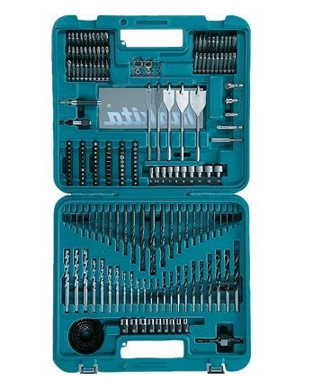 Kit Acessorios 201 peças D47260-P Grátis Parafusadeira 6723DW - Makita  - COLAR