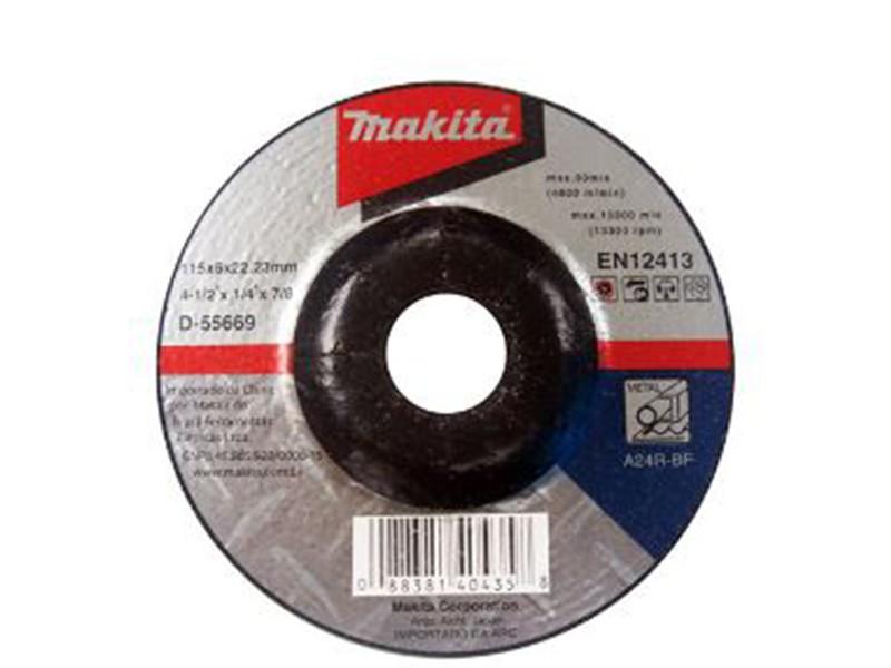 Disco de Desbaste Makita Para Metal  D55669 115mm  - COLAR
