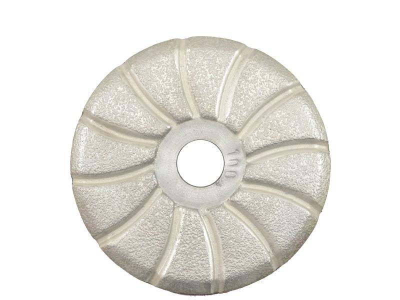Disco de Desbaste Rígido Super Turbo Espiral 100mm   - COLAR