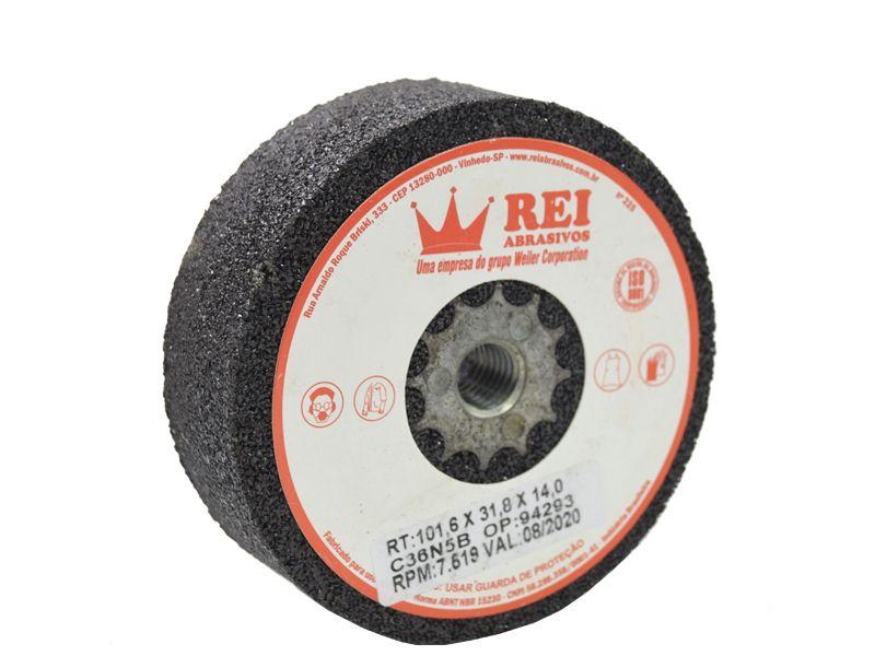 Rebolo Reto 4x1,5 Com Rosca - Rei  - COLAR