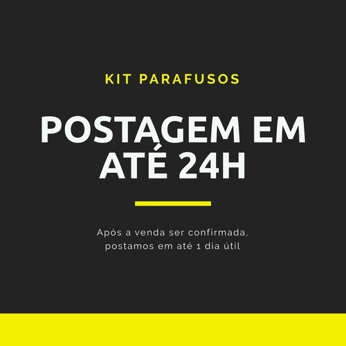 Kit Jogo Buchas Com Anel 300 Unidades 6mm 8mm (150 Cada)