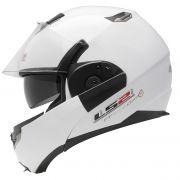 Capacete LS2 FF393 Mono Gloss Cor: Branco Brilhante