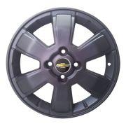 Jogo de 4 Rodas de Liga-Leve Aro 17 Zunky ZK-50 4x100 (Original Chevrolet Montana) Fosca - PROMO��O