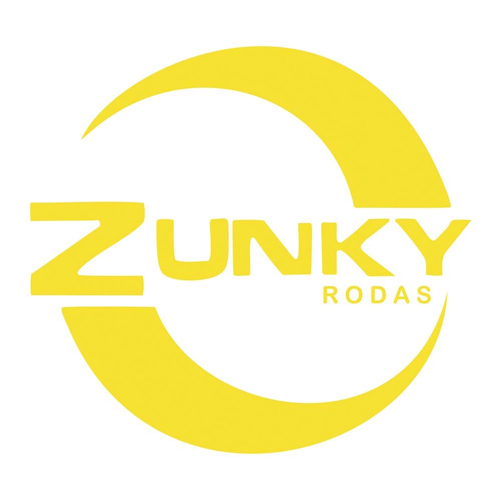 Jogo de 4 Rodas de Liga-Leve Aro 15 Zunky ZK-110 4x100 (Original Parati TrackField) - COR: PRATA