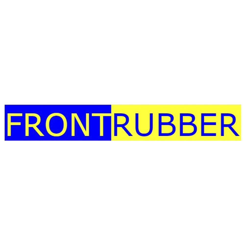 Pneu 500-8 Front Rubber Ecology Maciço Branco - Empilhadeira