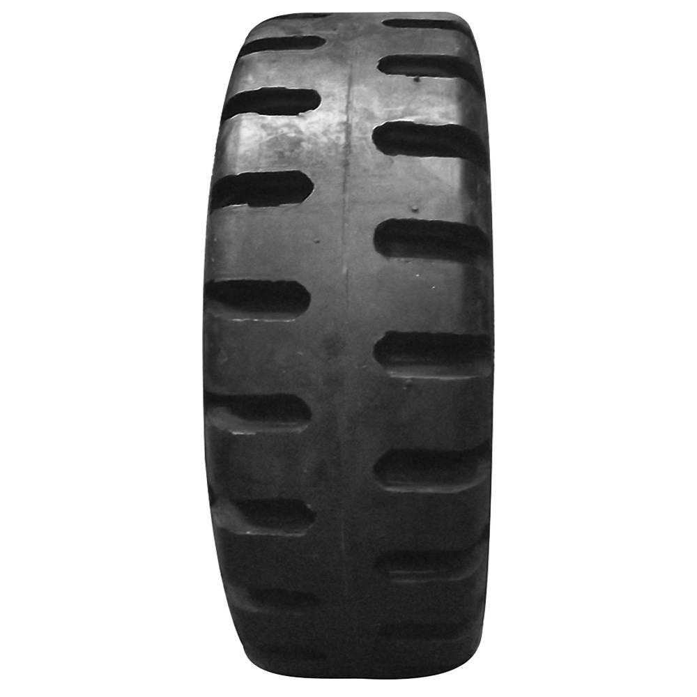 Pneu 600-9 Front Rubber Maciço Preto - Empilhadeira