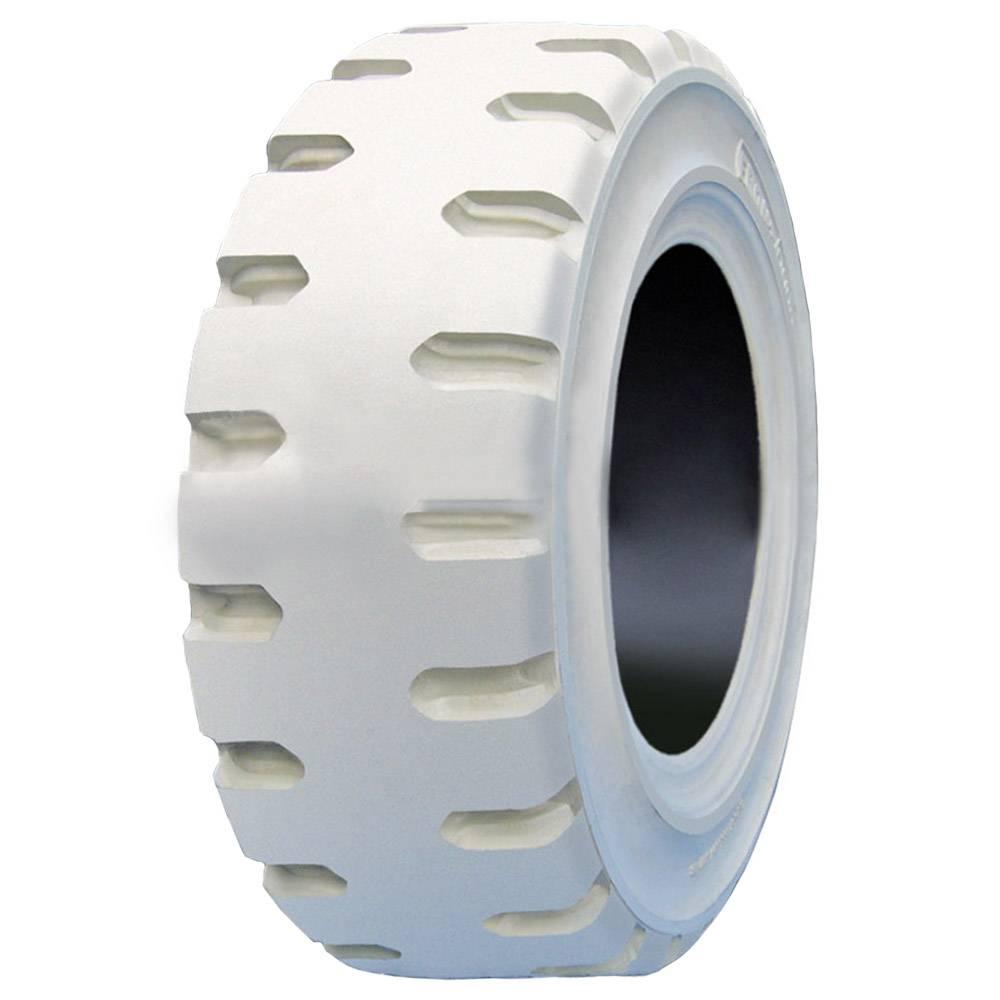 Pneu 650-10 Front Rubber Ecology Maciço Branco - Empilhadeira