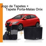 Tapete Personalizado Onix + Tapete personalizado Porta Malas