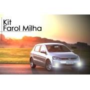 Kit Farol Milha Gol Voyage G6 2012 2013 Botão Original