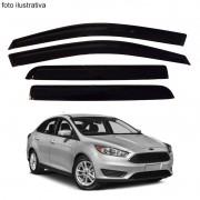 Calha de Chuva Defletor Fumê Focus Sedan 2014 até 2015 4 Portas