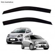 Calha de Chuva Defletor Fumê Ford Ka 1997 até 2013 2 Portas