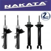 Jogo 04 Amortecedores Nakata Ford Ka 1996 Até 2006