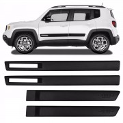 Jogo Friso Lateral Jeep Renegade Tipo Original