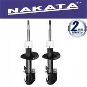 Par de Amortecedores Dianteiro Nakata Fiat Idea 2006 Até 2015