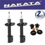 Par de Amortecedores Dianteiro Nakata Novo Corsa Hatch e Sedan 2002 Até 2013 + Kit da Suspensão